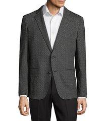 norwin textured blazer