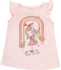 camiseta natalia rosado