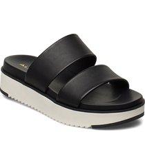 vicet shoes summer shoes flat sandals svart aldo