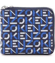 kenzo zip wallet with logo