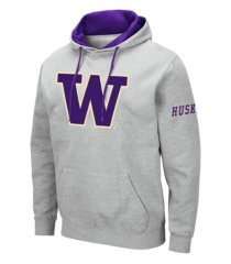 colosseum washington huskies men's big logo hoodie