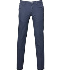 city line by nils pantalon - slim fit - blauw