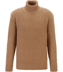boss men's t-buti wool-blend roll-neck sweater