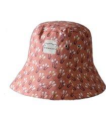 bawełniany kapelusz bucket hat dwustronny