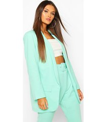 tailored blazer, mint