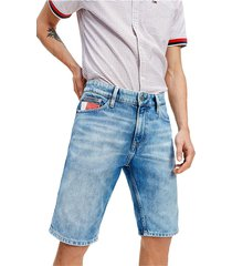 tommy jeans dm0dm08042 scanton heritage shorts and bermudas men denim light blue