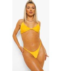 essentials tanga string bikini broekje, orange