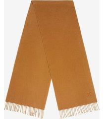 b-chain scarf brown 1