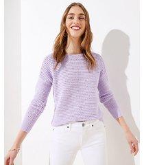 loft stitchy sweater