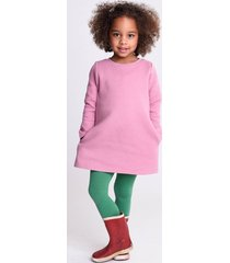 oilily hasia sweat dress 33 heart quilted solid- roze