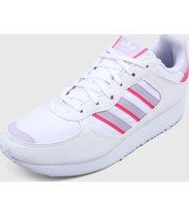 tenis lifestyle blanco-fucsia adidas originals special 21