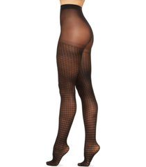 inc women's houndstooth tights, created for macy's