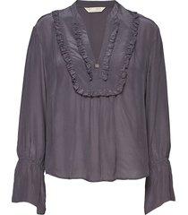 i-escape blouse blouse lange mouwen blauw odd molly