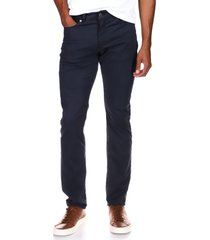 dl1961 men's slim straight stretch jeans, size 28 in oxford navy at nordstrom