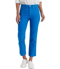 lucky brand authentic capri jeans