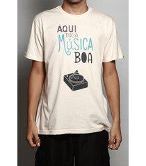 camiseta aqui toca música