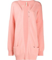 extreme cashmere nº47 oversized cardigan - pink
