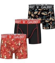 gaubert 3 pak heren boxershorts set 5-xxl