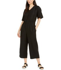 eileen fisher v-neck jumpsuit, regular & petite sizes