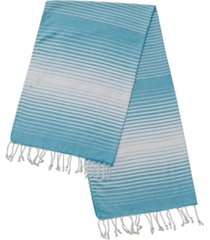 enchante home rainbow pestemal fouta turkish cotton beach towel bedding