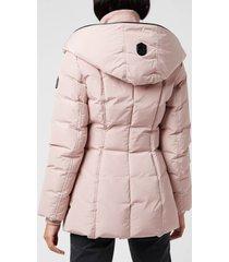mackage women's adali-nfr hooded down jacket - petal - xs