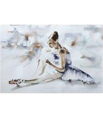 "aimee del valle dress rehearsal canvas art - 20"" x 25"""