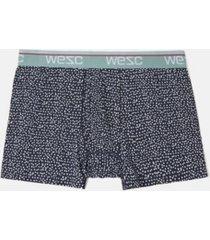 wesc men's benjamin dots boxer brief