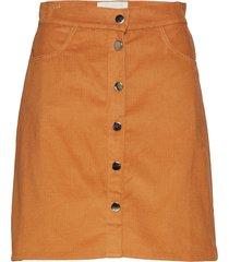 molle kort kjol orange stig p