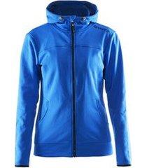 craft jas leisure full zip hood women sweden blue