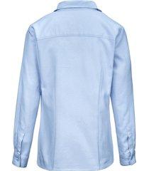 blouse van peter hahn blauw