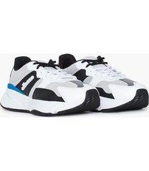 ellesse el aurano leather runner shoe sneakers white/grey/black