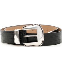 b-low the belt croc print villain belt