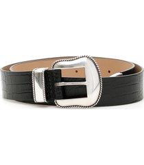 b-low the belt croc print villain belt