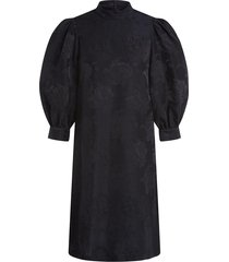 jurk met bloemenpatroon lizzy  zwart