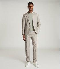 reiss boyce - slim fit tailored pants in, mens, size 38