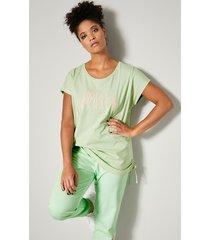 shirt janet & joyce mint::lichtroze