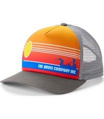 saltwater sunset foam dome hat