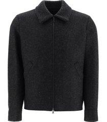 harris wharf london wool bomber jacket
