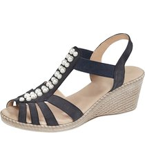 sandaletter mona mörkblå