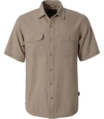 camisa cool mesh eco s/s marrón doite