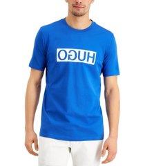 hugo men's dicagolino202 logo graphic t-shirt