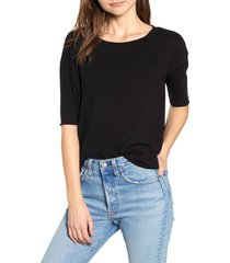 women's frank & eileen tee lab core half sleeve tee, size x-small - black