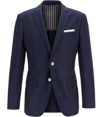 boss men's hartlay slim-fit virgin wool jacket