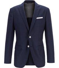 boss men's hartlay slim-fit virgin wool jacket