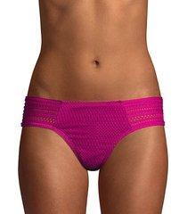 perla crochet bikini bottoms