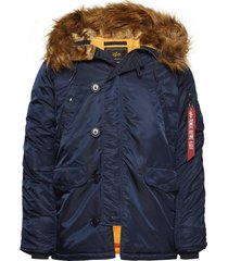 n3b vf 59 parka jas blauw alpha industries