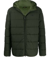 barbour padded coat - green