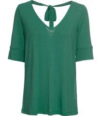 maglia con scollo sulla schiena (verde) - bodyflirt