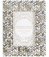 """shiraleah granada braid print 4x6"""" frame"""