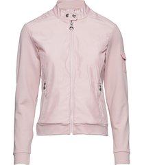 break jacket zomerjas dunne jas roze daily sports